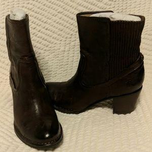 Frye Lucinda Scrunch Short boot.